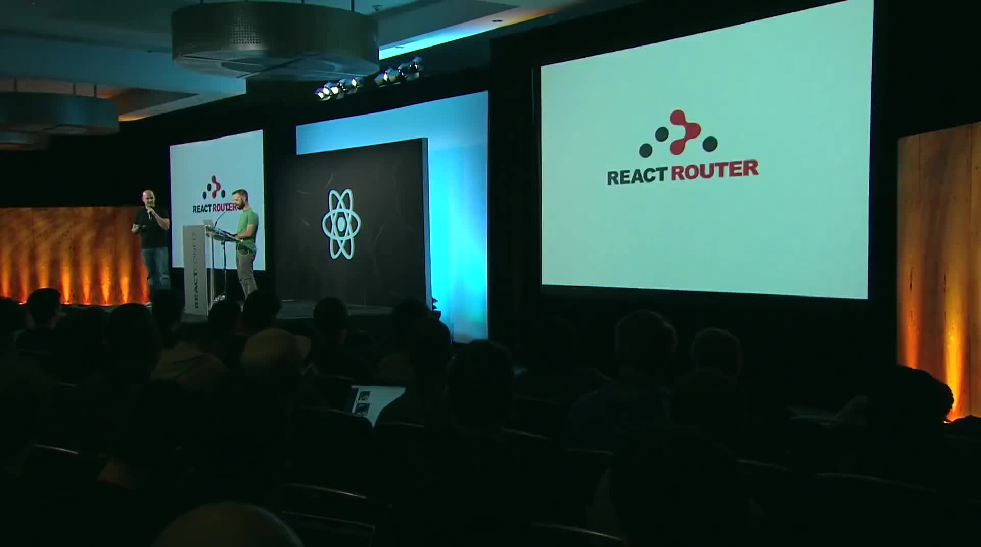 ⚡️ - Michael Jackson & Ryan Florence - Learn Once, Route Anywhere - React Conf 2017
