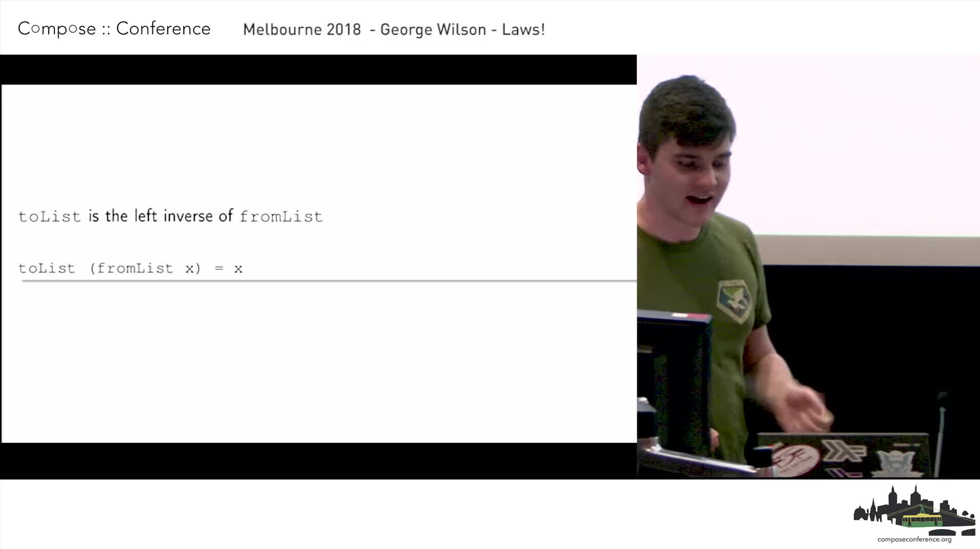 Laws! - George Wilson - Compose Melbourne 2018
