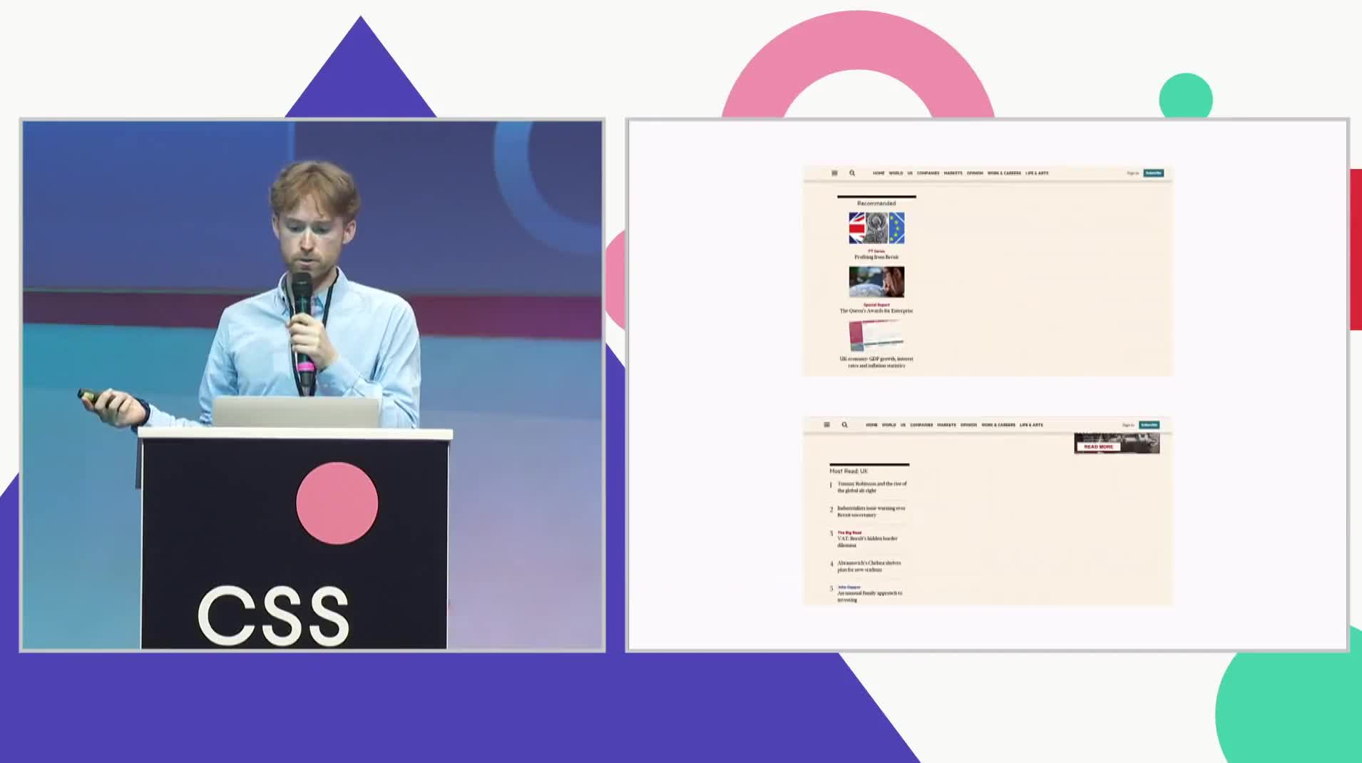CSSconf EU 2018   Oliver Williams: Refactoring with CSS Grid